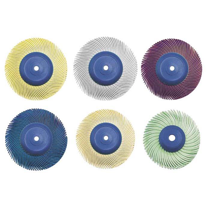 "3M 2"" 3-Ply Radial Bristle Disc Assortment"