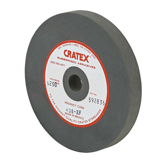 "Cratex 4"" Wheel, Gray-Green, Very Fine"