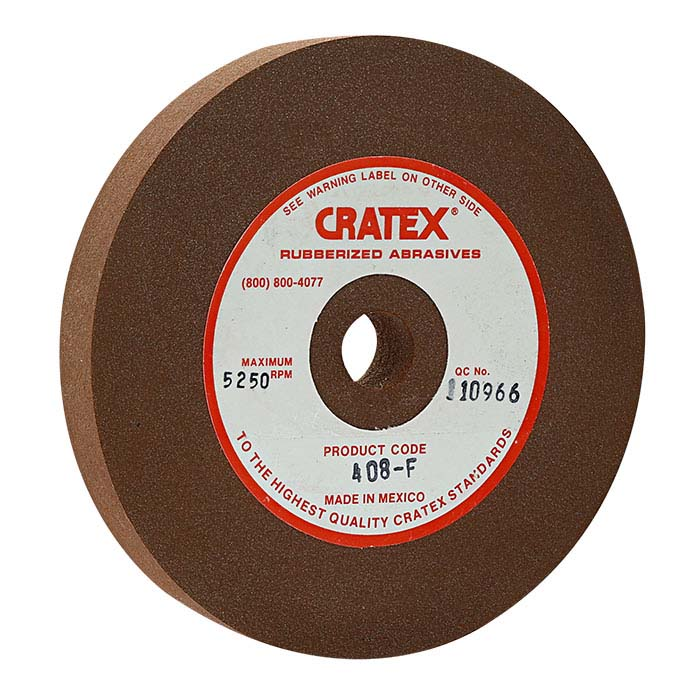 "Cratex 4"" Wheel, Red, Fine"