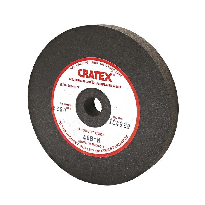 "Cratex 4"" Wheel, Brown, Medium"