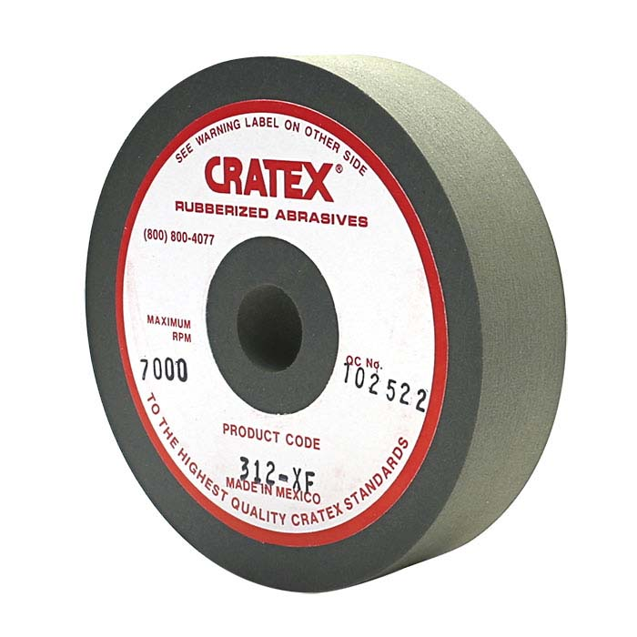 "Cratex 3"" Wheel, Gray-Green, Very Fine"