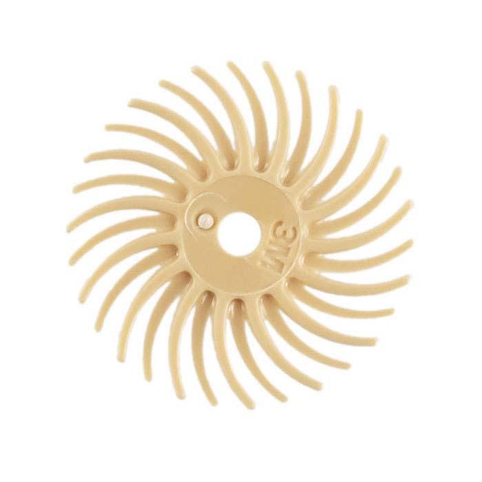 3M Radial Bristle Discs, 6 Micron, Peach