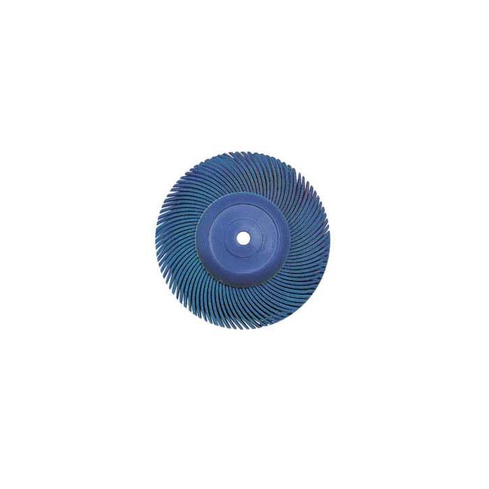 "3M 2"" 6-Ply Radial Bristle Disc, 400-Grit, Blue"