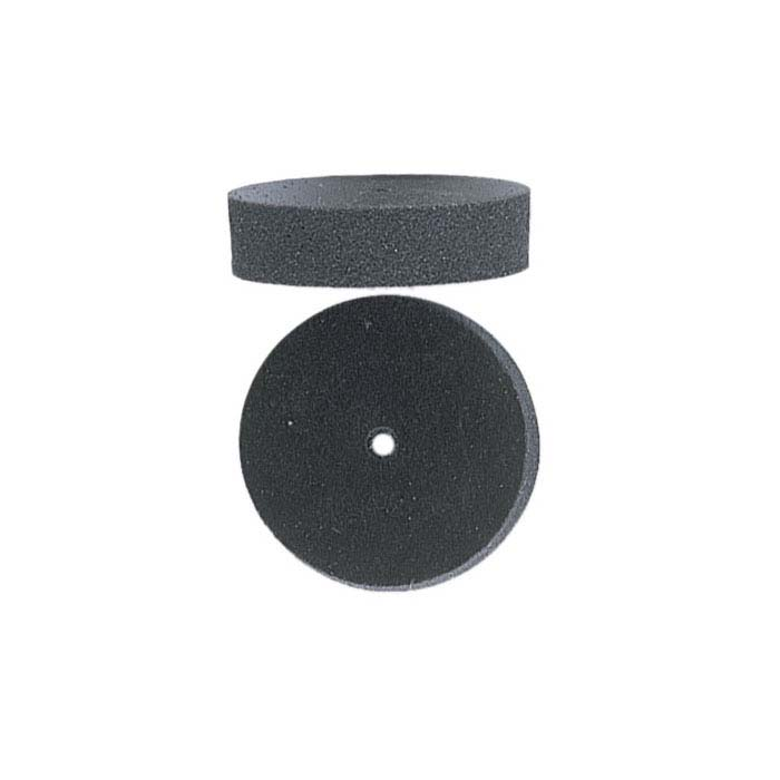 EVE Silicone Black Flat-Edge Wheel Polisher, Medium