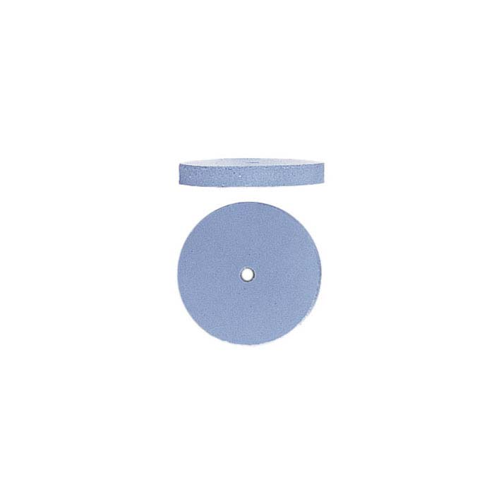 EVE Silicone Light Blue Flat-Edge Wheel Polisher, Fine