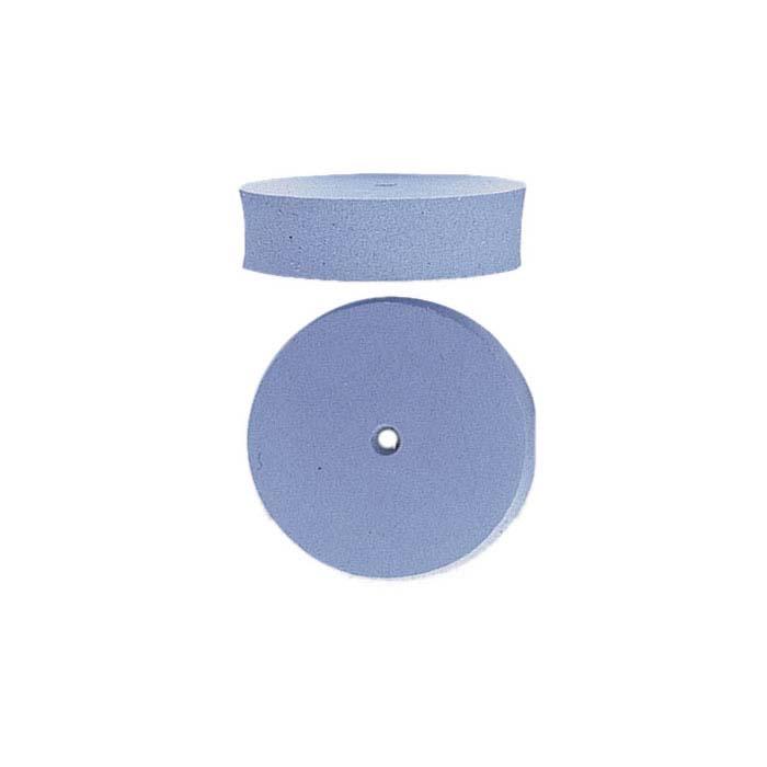 EVE Silicone Light Blue Flat-Edge Wheel Polisher, Fine