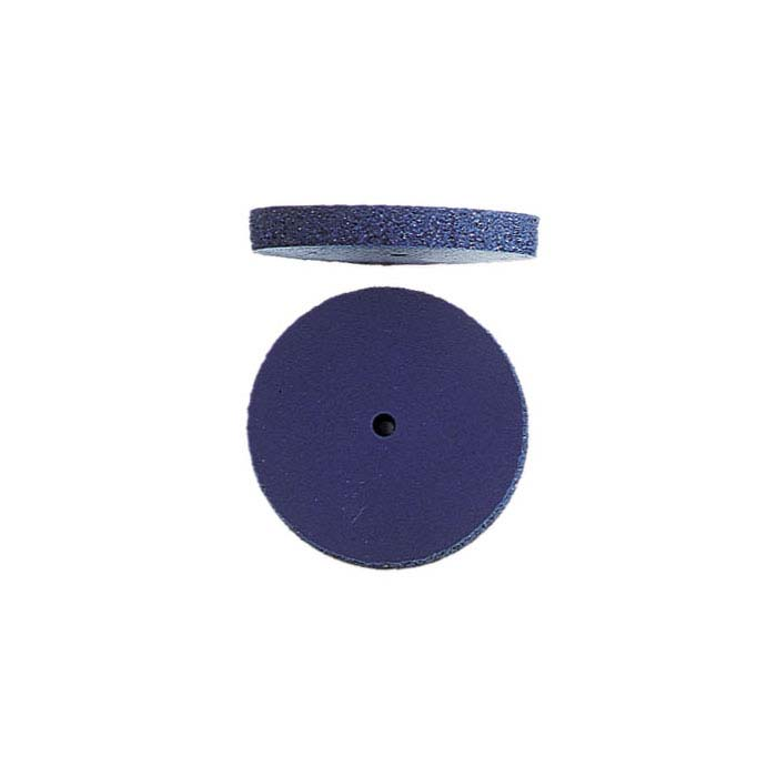 EVEFlex Blue Flat-Edge Wheel Polisher, Coarse