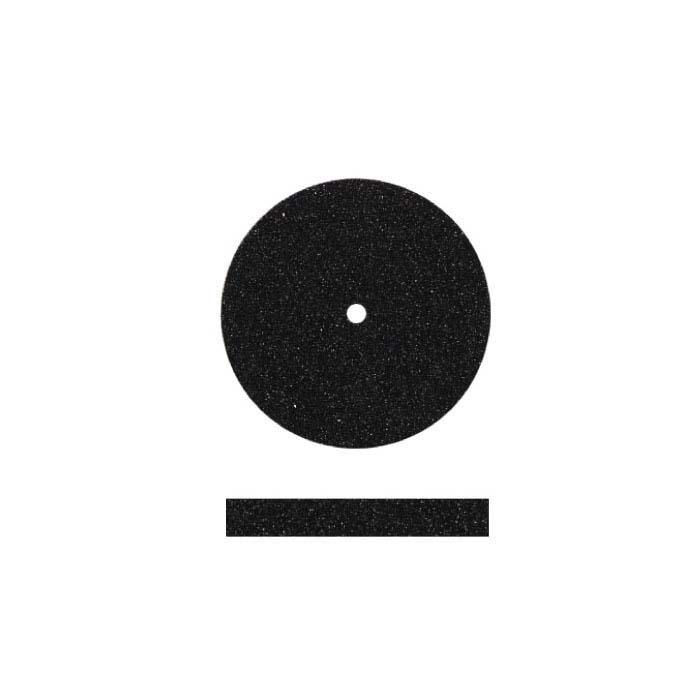 Dedeco Silicone Polishing Wheel, Black, Medium