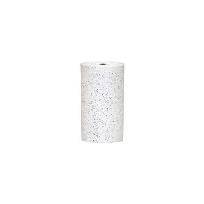 Dedeco Silicone Cylinder Polisher, White, Coarse