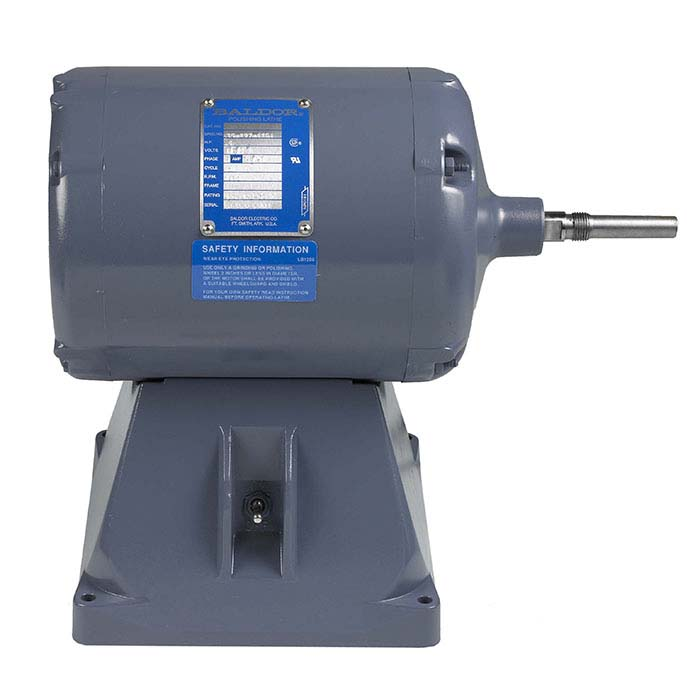"Baldor 5/8"" Tapered-Shaft Polishing Motor, 1/2hp"