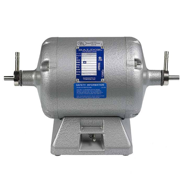 "Baldor 3/8"" Tapered-Shaft Polishing Motor, 1/2hp"