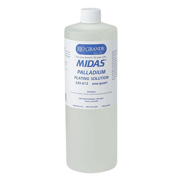 Midas® Palladium Plating Solution, Acid-Based