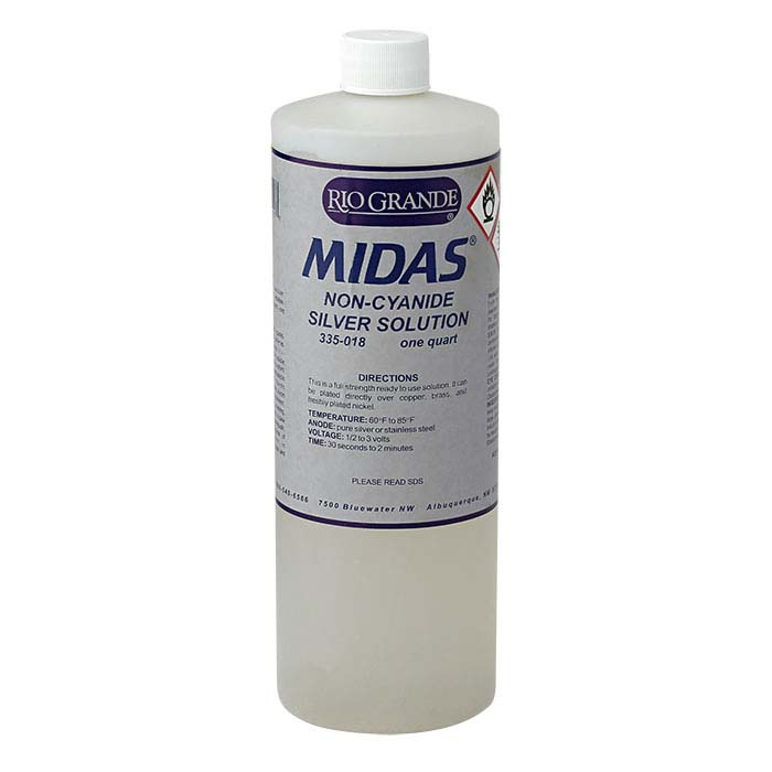 Midas Silver Solution, Non-Cyanide