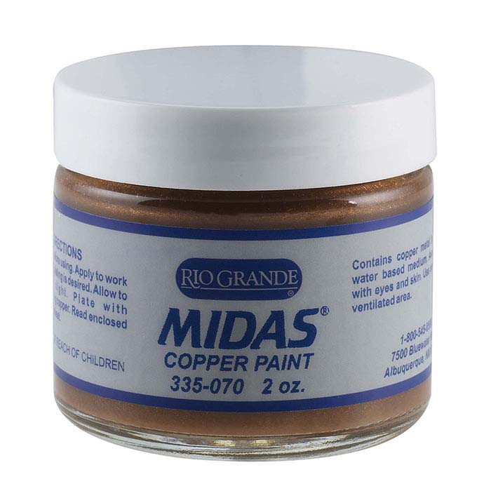 Midas Copper Conductive Paint, 2 oz.