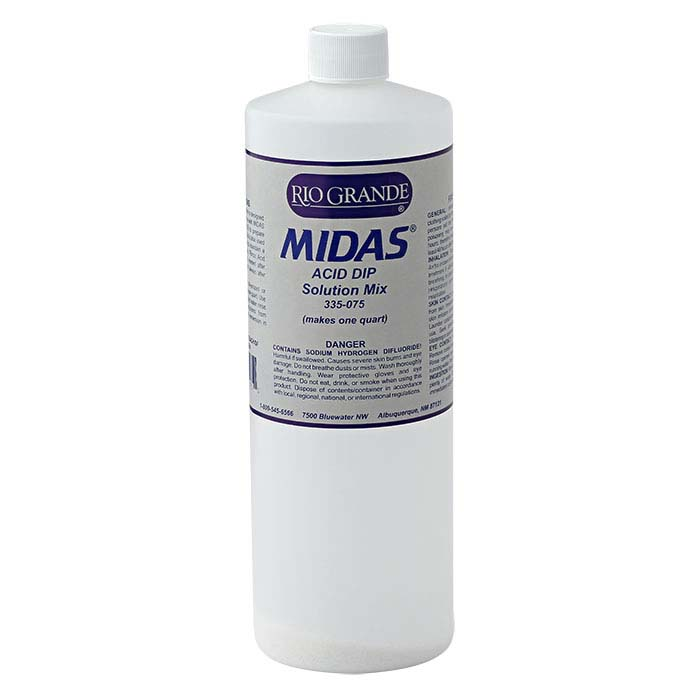 Midas Acid Dip Solution Mix