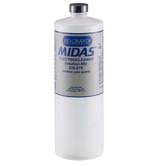 Midas Electrocleaner Solution Mix