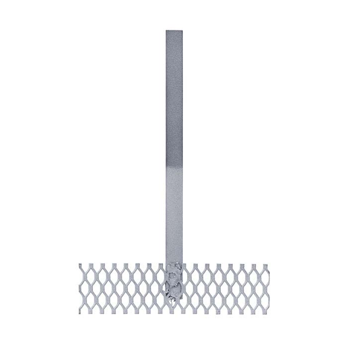 "Platinized Titanium Horizontal Mesh Grid Anode, 4""W"