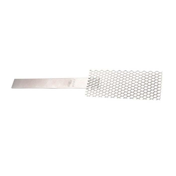 "Platinized Titanium Vertical Mesh Grid Anode, 2-1/2""W"