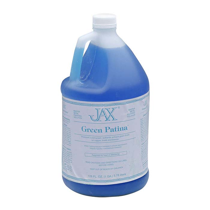 JAX® Green Patina Solution, 1 Gallon