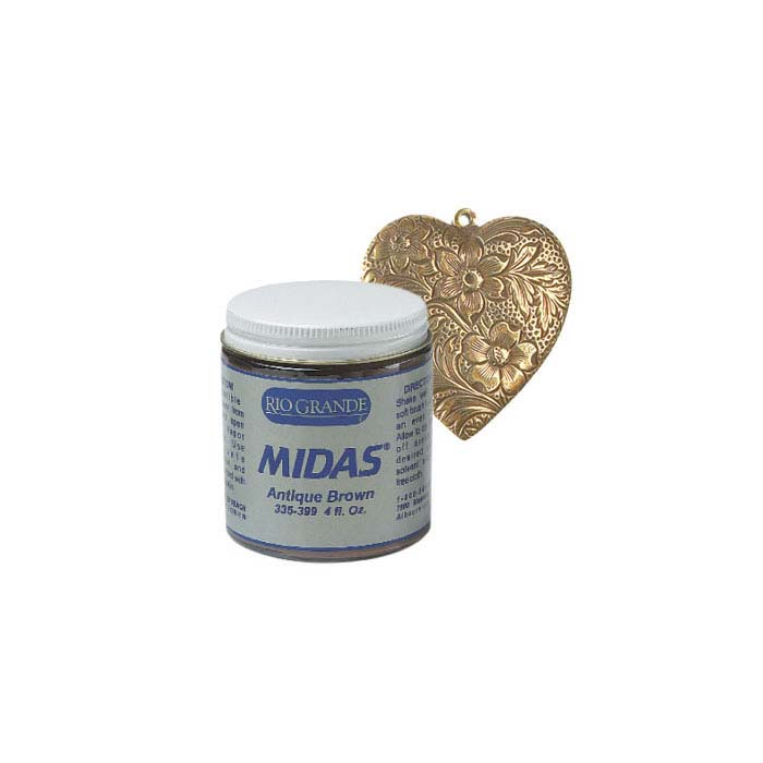Midas Brown Background Antique