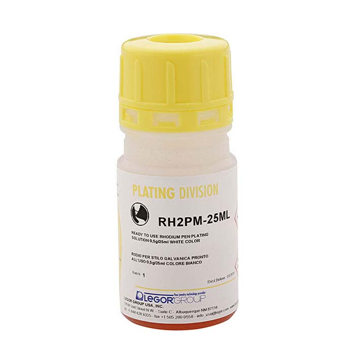 MIDAS® Ultrabright Rhodium Pen-Plating Solution, Acid-Based