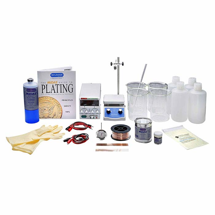 MIDAS® Electroforming Kit with 5-Amp Rectifier