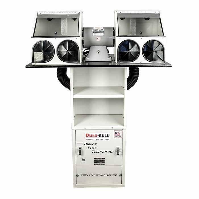 Dura-BULL® Direct Flow Polishing System, 600cfm