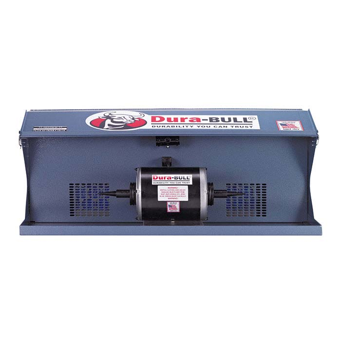 Dura-BULL® Polishing Cabinet and Motor, 465 cfm