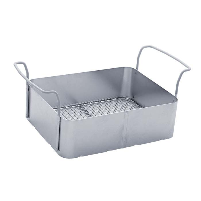 Stainless Steel Basket for Elmasonic 10-Quart Ultrasonic Cleaner