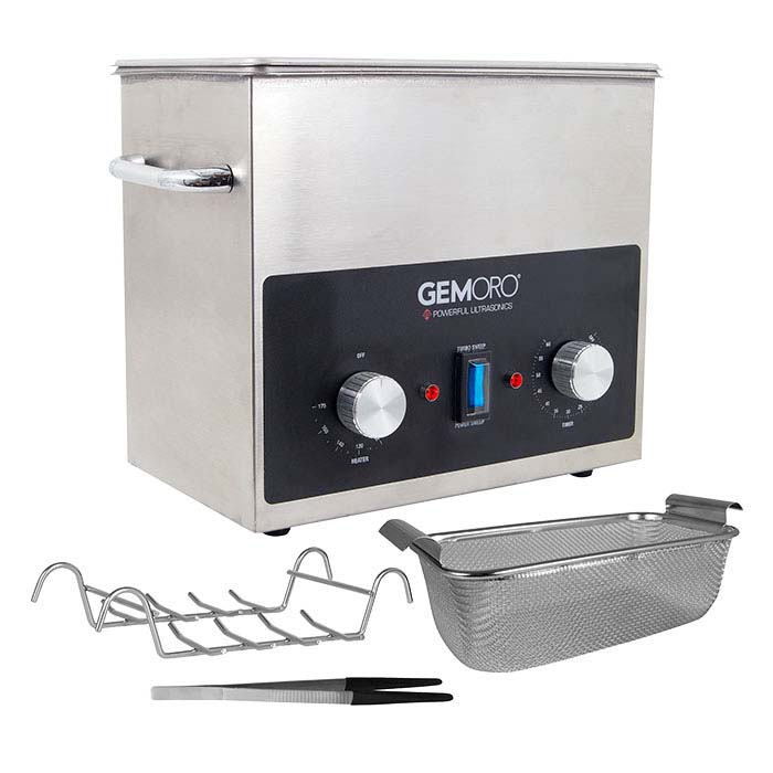 GemOro® Next Generation Ultrasonic Cleaner, 3-Quart