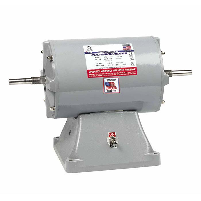 "Rio 5/8"" Straight-Shaft Polishing Motor, 1/2hp"