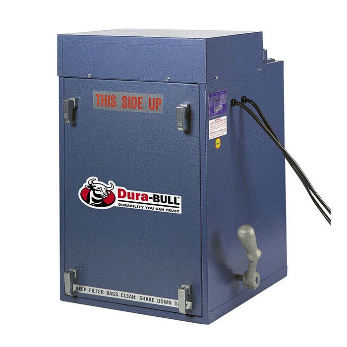 Dura-BULL Space-Saver 1/2hp Dust Collector, 400 cfm