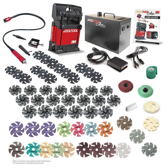 JoolTool™ Ultimate Signature Kit with Vacuum and Flex Shaft