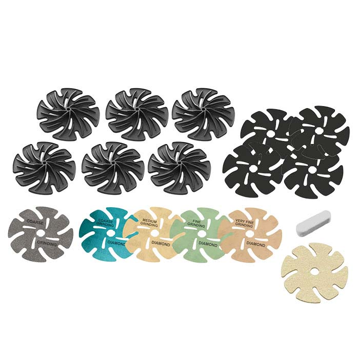"JoolTool™ 4"" Soft Stone Lapidary Add-On Kit"