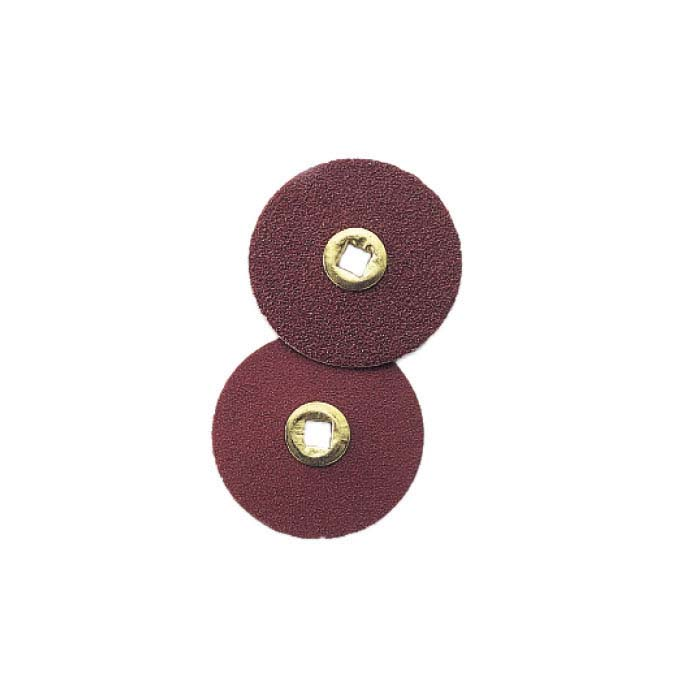 E.C. Moore Brass-Center Snap-On Snap-Off Paper-Backed Aluminum Oxide Sanding Discs