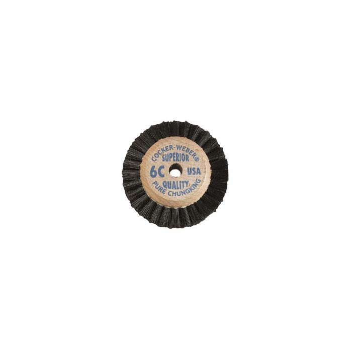 "Cocker-Weber Superior Chungking #6C 2-Row Bristle Brush, 2"""