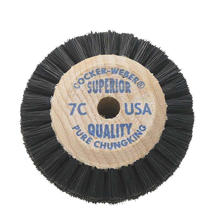 Cocker-Weber Superior Chungking #7C 3-Row Bristle Brush, 2""