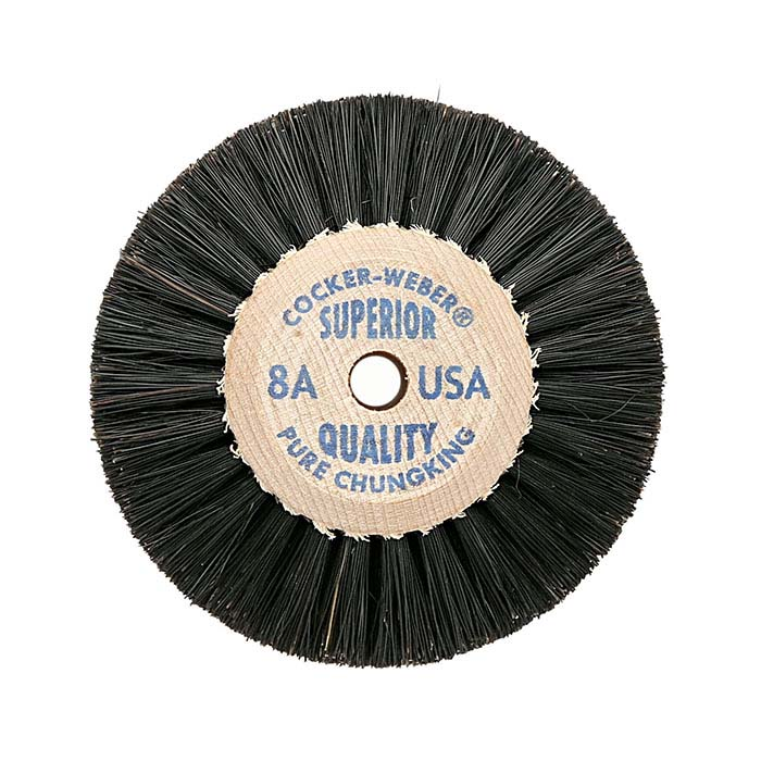 "Cocker-Weber Superior Chungking #8A 4-Row Bristle Brush, 2-1/2"""