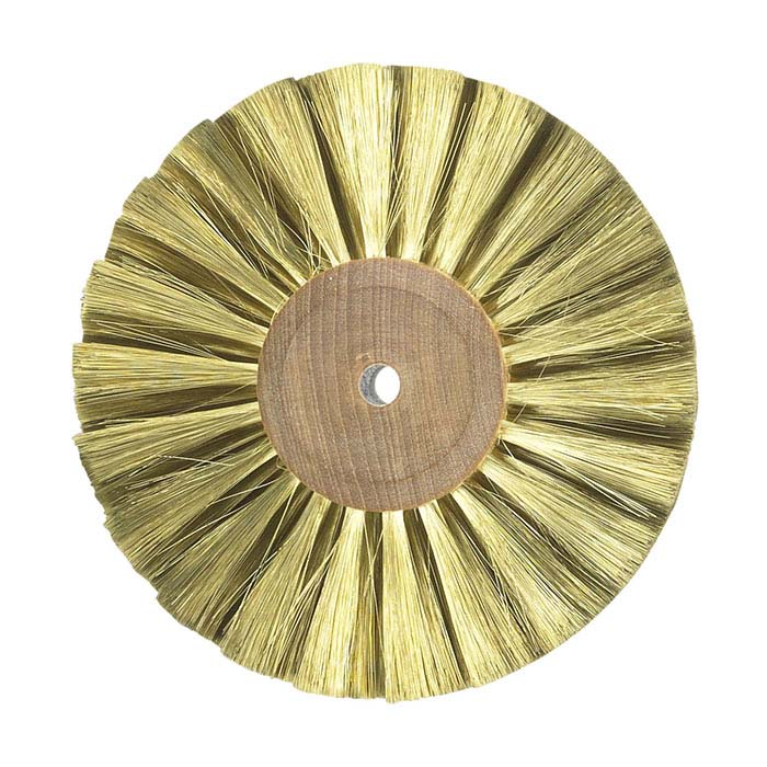 Brass Wire Wheel Brush