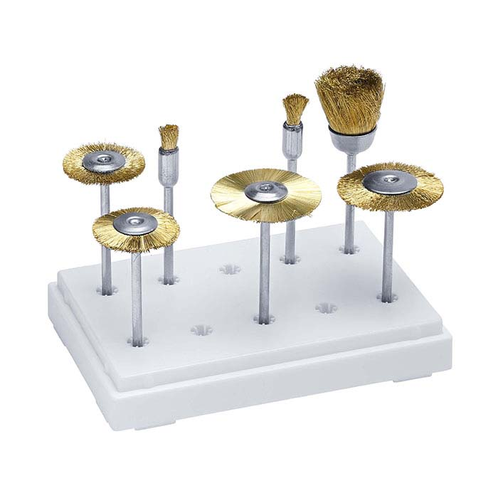 Brass Brush Kit, Mounted