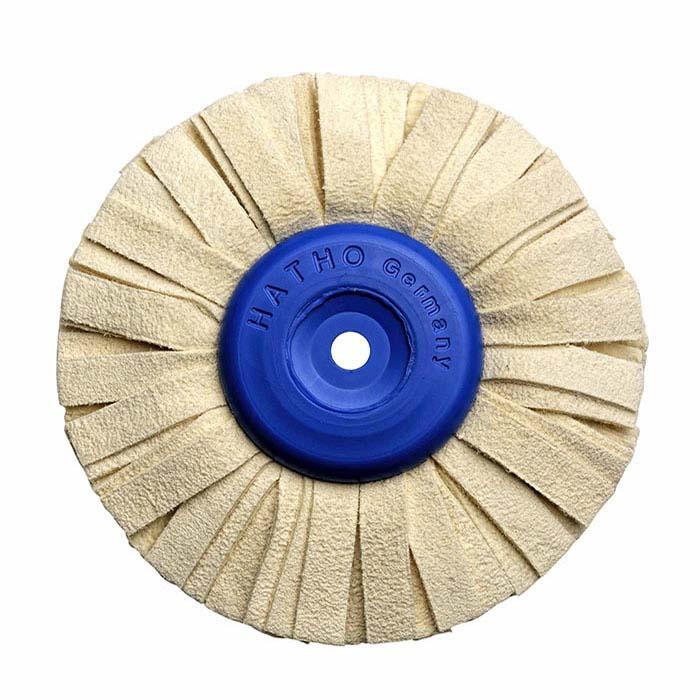 Chamois Polishing Wheel