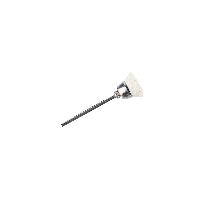 Soft Natural Bristle Cup Brush, Mounted
