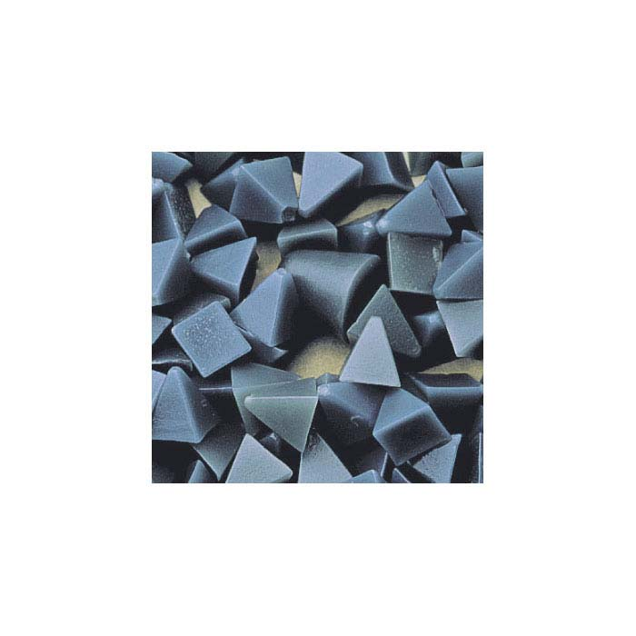 Standard Plastic Pyramid Media, Blue, Medium Cut