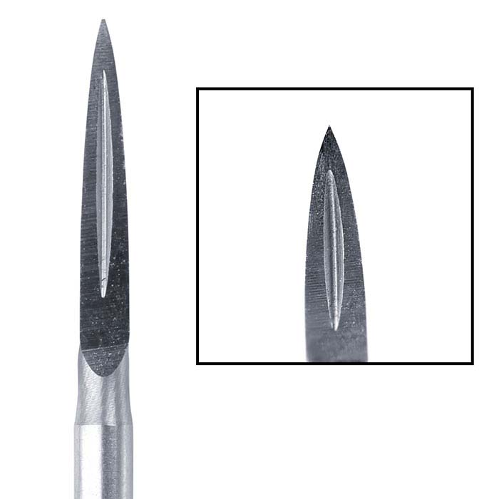 Busch® Tungsten Vanadium Three-Square Burs