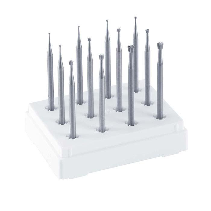 Dentsply Maillefer 12-Piece Inverted Cone Bur Set