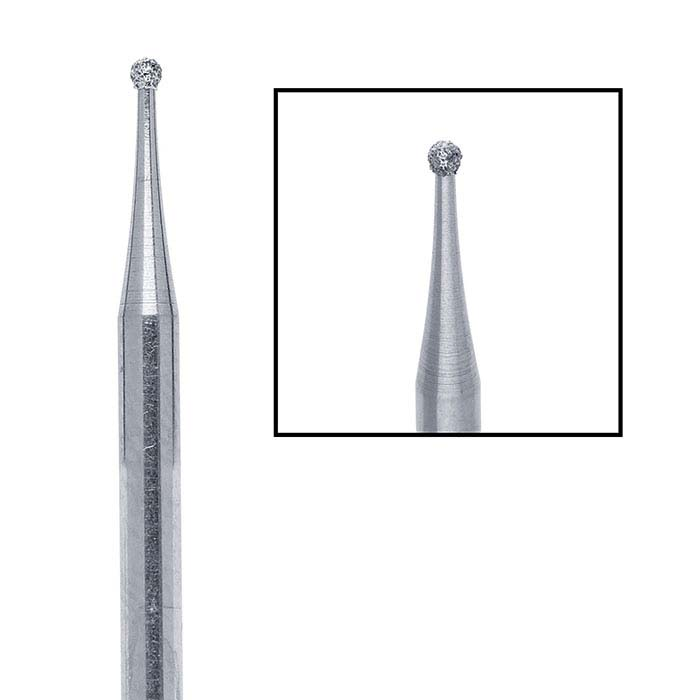 Edenta Diamond Round Bur, 1.2mm