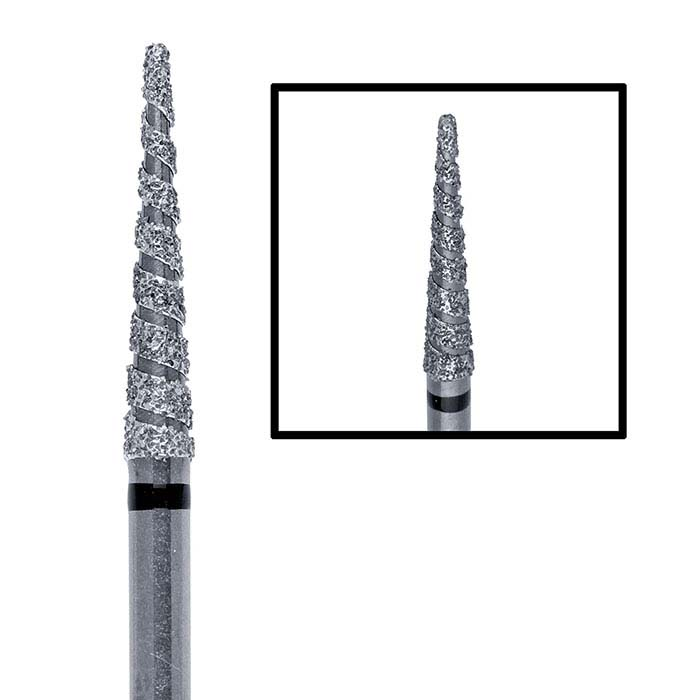 Edenta Diamond Long Cone Bur, 1.5mm