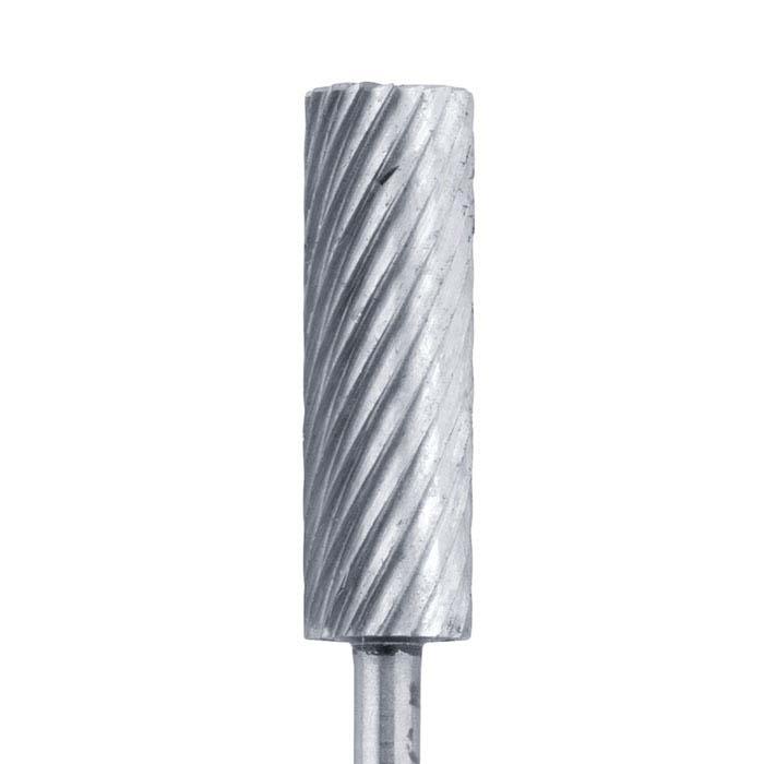 Wolf Wax High-Speed Steel Cylinder Wax Bur, 25mm x 8mm