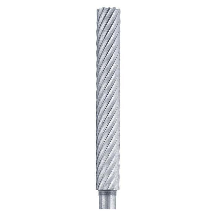 Wolf Wax High-Speed Steel Cylinder Wax Bur, 25mm x 3.3mm