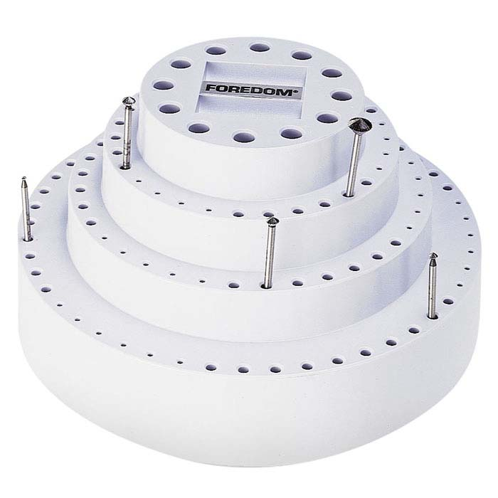 Foredom® Plastic Rotating Bur Organizer